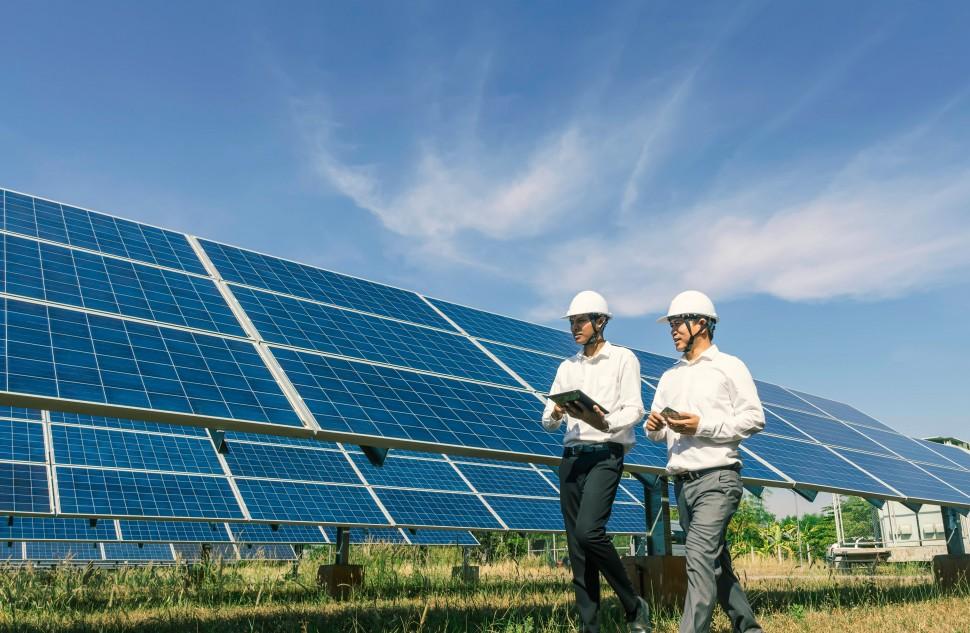 commercial solar panels port hedland